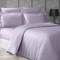 Постельное белье Karna Greta, цвет лавандовый, размер Евро - Karna (Bilge Tekstil)