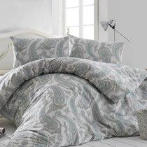 Постельное белье Ranforce Fellice, цвет зеленый, размер 1.5-спальный - Altinbasak Tekstil