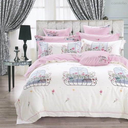 Постельное белье Karna Delux Mery, подростковое, 1.5-спальный - Karna (Bilge Tekstil)