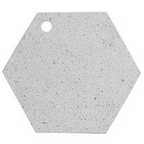 Доска сервировочная из камня Elements Hexagonal 30 см - Typhoon