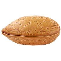 "Блюдо для горячего с крышкой Bordallo Pinheiro ""Орехи. Миндаль"" 17см - Bordallo Pinheiro"