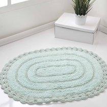 Коврик для ванной Yana, кружевной, цвет зеленый, 60x100 - Bilge Tekstil