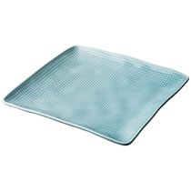 Тарелка Закусочная Квадратная Concept 18x18 См Голубой - Lianjun Ceramics