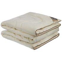Одеяло ВЕРБЛЮЖЬЯ ШЕРСТЬ 200x220 СМ САТИН,80% ВЕРБЛЮЖЬЯ ШЕРСТЬ,20% СИЛИКОН.ВОЛОКНО ПЛОТНОСТЬ 300 Г/, 200x220 см - Бел-Поль