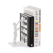 Держатель для книг The Library белый, цвет белый - Balvi