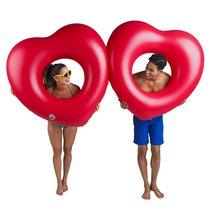 Набор кругов для бассейна Two Hearts is Better then One 2 шт - BigMouth