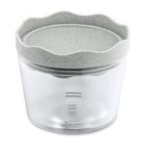 Контейнер для хранения Prince S Organic 300 мл серый - Koziol