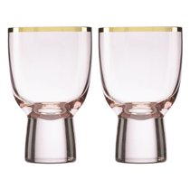 """Набор бокалов для вина Lenox """"Трианна"""" 295мл, 2шт, (пудровый), цвет пудра - Lenox"""