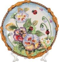Тарелка Настенная Декоративная Весна Диаметр 21 см Высота 3 см - Hebei Grinding Wheel Factory