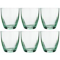 Набор стаканов из 6 шт. KATE OPTIC 300 мл ВЫСОТА 9 см (КОР 8Набор.) - Crystalex