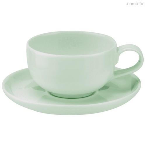 """Чашка чайная с блюдцем Portmeirion """"Выбор Портмейрион"""" 100мл (зеленая) - Portmeirion"""