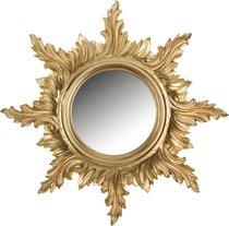 Зеркало Настенное Золотое Диаметр 50/18 см - Euromarchi