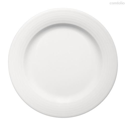 Тарелка круглая 20 см, плоская c бортом, Dialog - Bauscher
