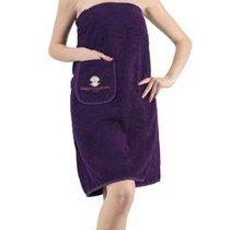 """Набор для сауны """"KARNA"""" женский махровый PARIS 1/3, цвет фиолетовый, 70x150 - Bilge Tekstil"""