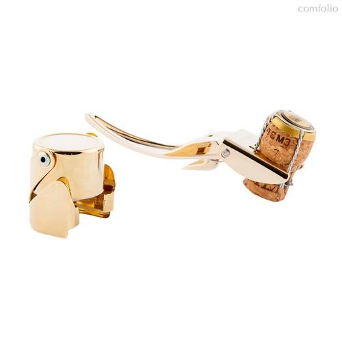 Набор для шампанского Brut золотой, цвет золотой - Koala