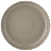 Тарелка Глубокая Majesty 20,5 см Серая, цвет серый, 20.5 см - Shunxiang Porcelain