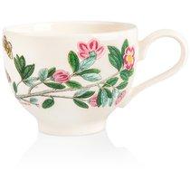 "Чашка для завтрака с блюдцем Portmeirion ""Ботанический сад.Рододендрон"" 280мл - Portmeirion"