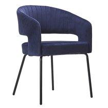 Кресло Ariadna, велюр, синее - Berg