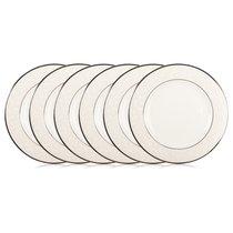 """Набор из 6 тарелок закусочных Lenox """"Чистый опал"""" 20,5см - Lenox"""