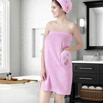 "Набор для сауны ""KARNA"" женский махровый ARVEN 1/2, цвет розовый, 70x150 - Bilge Tekstil"