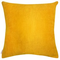 "Чехол для подушки ""Риссота"", 43х43 см, 02-2119/1, цвет горчичный, 43x43 - Altali"