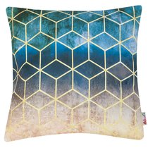 """Чехол для подушки """"Калейдоскоп"""", 43х43 см, 702-7091/1, цвет разноцветный - Altali"""