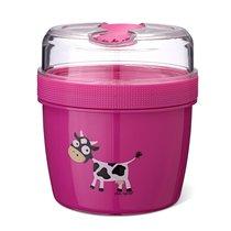 Ланч-бокс с охлаждающим элементом N'ice Cup™ Cow фиолетовый, цвет фиолетовый - Carl Oscar