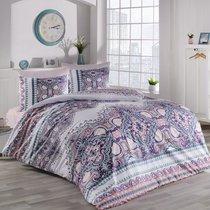Постельное белье Ranforce Masal, цвет абрикосовый, размер 2-спальный - Karna (Bilge Tekstil)