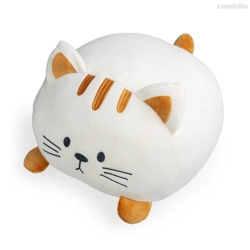 Подушка диванная Kitty белая, цвет белый - Balvi