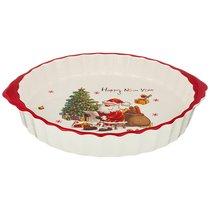 Блюдо-Шубница С Новым Годом! 29x25x4,5 см - Huachen Ceramics