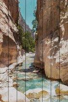 Самарийской ущелье Крит 60х90 см, 60x90 см - Dom Korleone