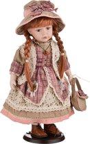 Кукла Фарфоровая Декоративная Высота 42 см - Reinart Faelens