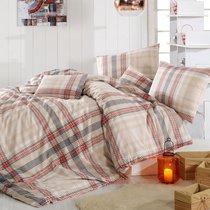 Постельное белье Ranforce Aliz, цвет коричневый, размер 1.5-спальный - Altinbasak Tekstil