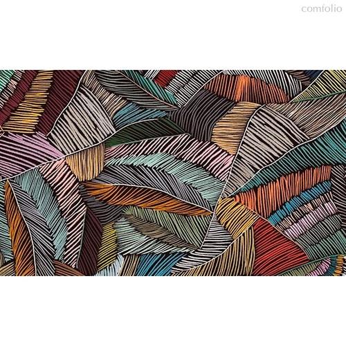 Ткань лонета микро Шибори ширина 280 см, 3096, цвет разноцветный - Altali