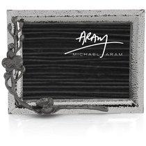 "Рамка для фото Michael Aram ""Чёрная орхидея"" 13х18см (серебрист.) - Michael Aram"