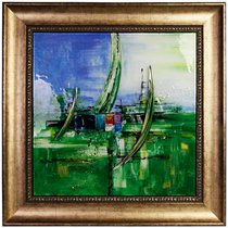 Картина стеклянная Наутика 50х50см - Top Art Studio