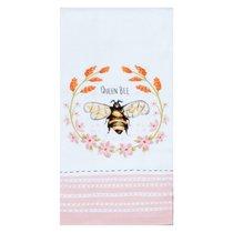 "Полотенце кухонное махровое Kay Dee Designs ""Пчелки. Королева-пчела"" 40*66см, хлопок - Kay Dee Designs"