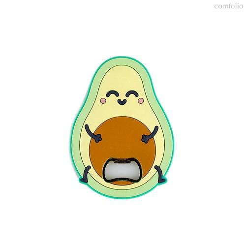 Открывалка Avocado магнитная, цвет разноцветный - Balvi