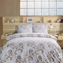 Постельное белье Ranforce Lucian, цвет коричневый, 2-спальный - Altinbasak Tekstil