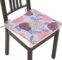 Сиденье Для Стула Астра, Цвет Фиолетовый, 40x40 см , 100% Полиэстер - Gree Textile Dingfeng