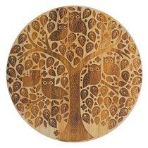 Доска сервировочная In the Forest круглая, бамбук, 32 см - Mason Cash