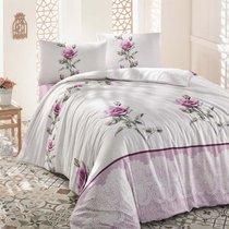 Постельное белье Ranforce Almila, цвет розовый, размер 1.5-спальный - Altinbasak Tekstil