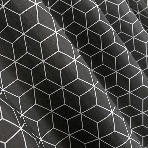 Ткань лонета Гэтсби грэй ширина 280 см/ 3044/2, цвет серый - Altali