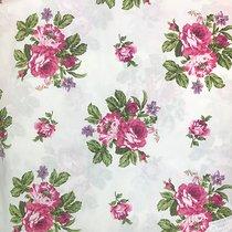 Ткань Королевская роза, 2004/1, цвет малиновый - Altali