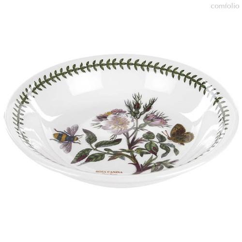 """Тарелка для пасты Portmeirion """"Ботанический сад. Шиповник"""" 20см - Portmeirion"""