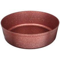 Форма Agness Премиум Red Queen Круглая 30X8,5 см Трехслойное Покр Granit, Pfoa Free - ISFA Metal Tekstil