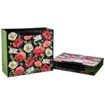 Комплект Бумажных Пакетов Из 10 Шт. Маки 30x27x12 см - Vogue International