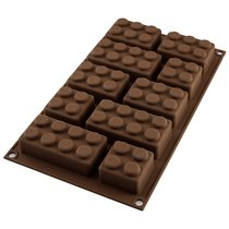Форма для приготовления конфет Choco Block силиконовая - Silikomart