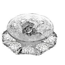 Чаша на подставке с ложкой Queen Anne d17см, h5см - Queen Anne