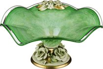 Декоративная Чаша Диаметр 45 см Высота 21 см (Кор 1 шт. ) - White Cristal